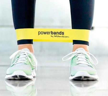 power band żółta