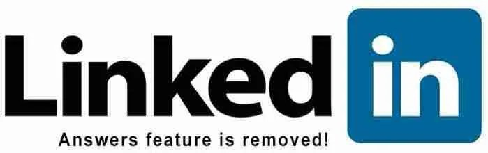 LinkedIn Answers Feature Discontinued