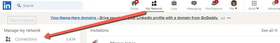 Find Your LinkedIn Connections