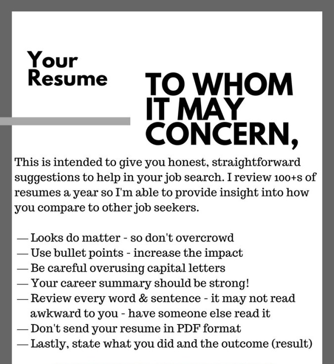 5 key points to make your resume stunning in 2018