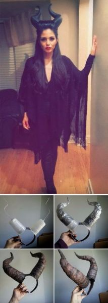halloween, costumes, homemade, DIY, maleficent