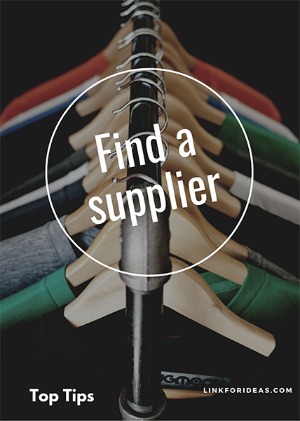 Link for Ideas - Find a supplier