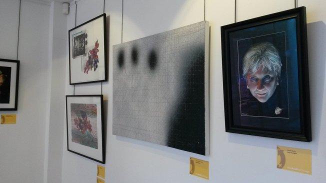 From left to right: Tessa Atton (Trichy 1 & 2); Yonat Nitzan-Green (Space Gaze); Daniel Byrne (Into the Light!)