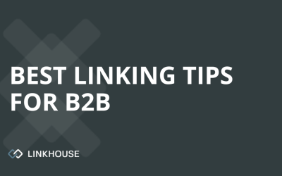 What are the best link buidling tips for B2B?