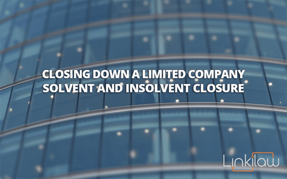 Closing down limited company