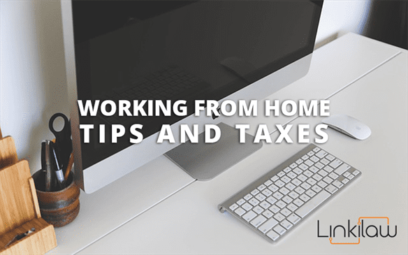 working from home taxes