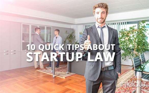 startup law tips