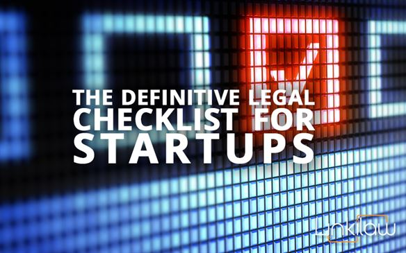 legal checklist for startups