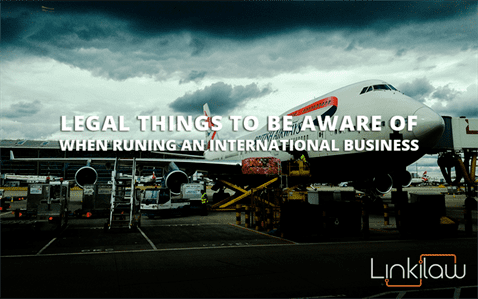 running an international business