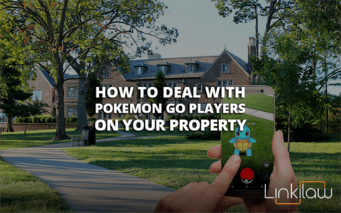 pokemon go players on your property