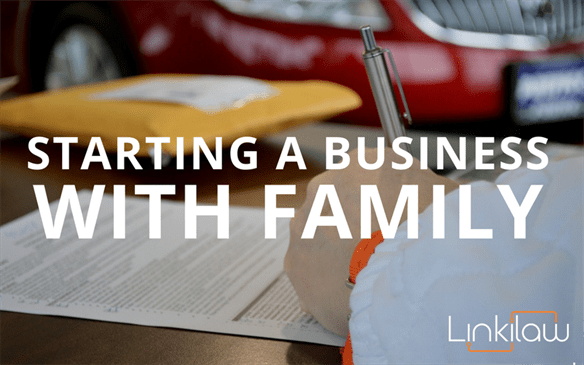 starting a business with family