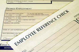 References reassure the employer you will be a good employee.