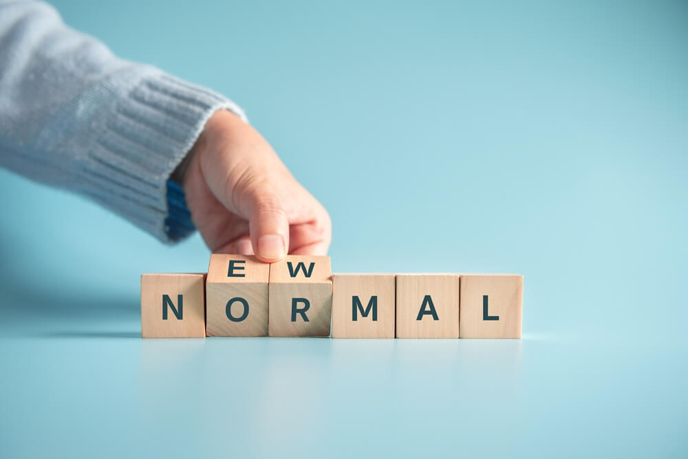 How will new normal affect job search and businesses?