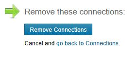 Remove a LinkedIn Connection