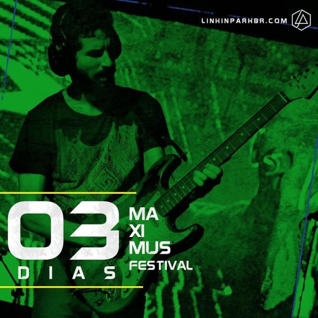 3 dias para 3 show do linkinpark em So Paulo!hellip