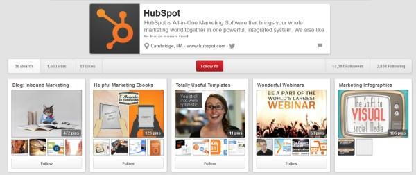 HubSpot thu hút sự chú ý của khách