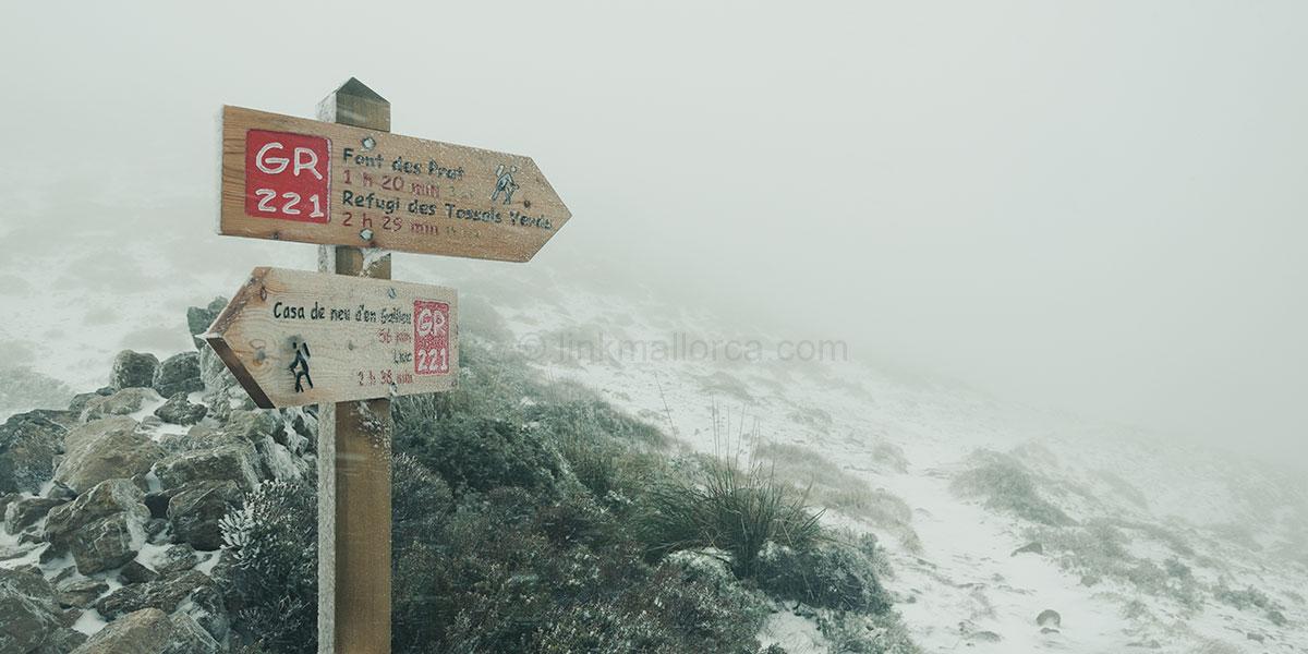 Sendero GR221 Mallorca, Ruta de Pedra en Sec