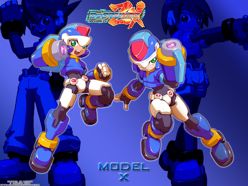 A couple of old Mega Man ZX wallpapers
