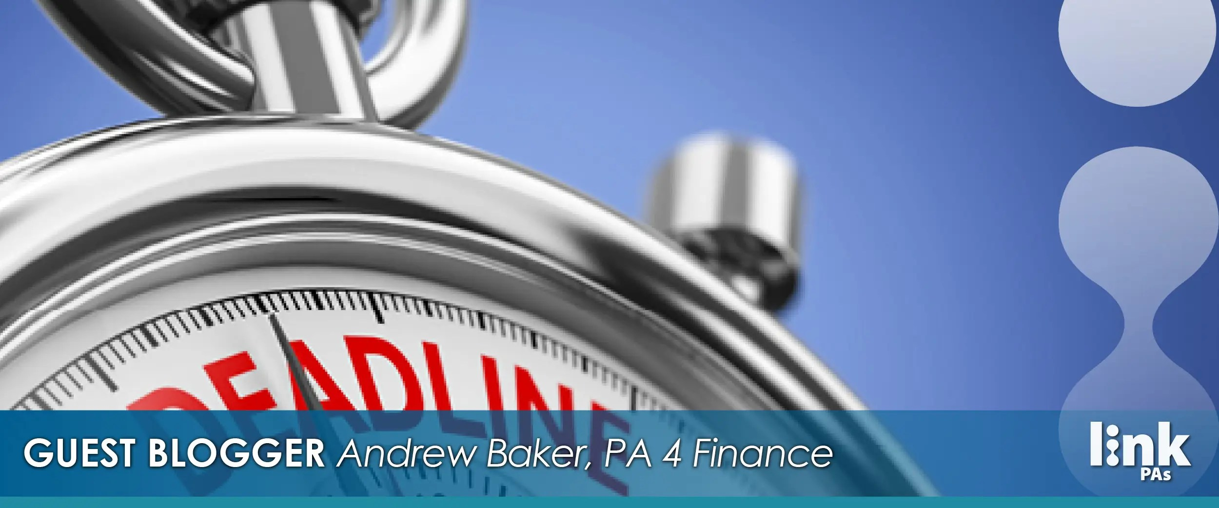 guest blogger andrew baker on tax time