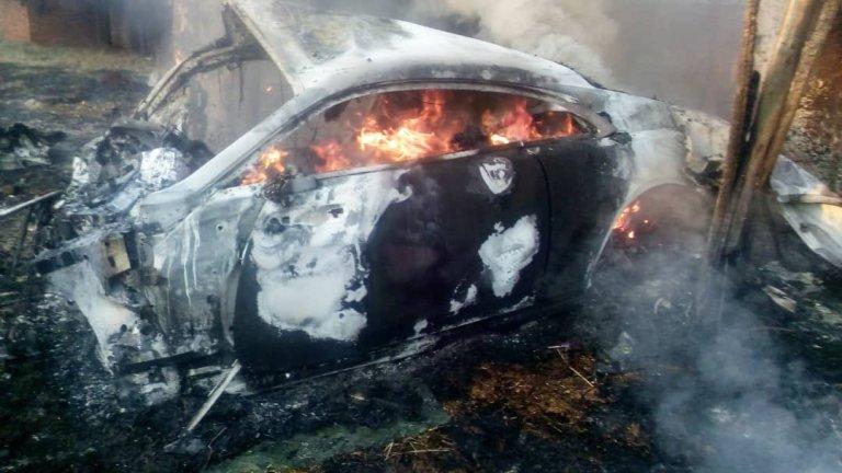 Zimbos on Rolls Royce Wall following Ginimbi Car Crash..