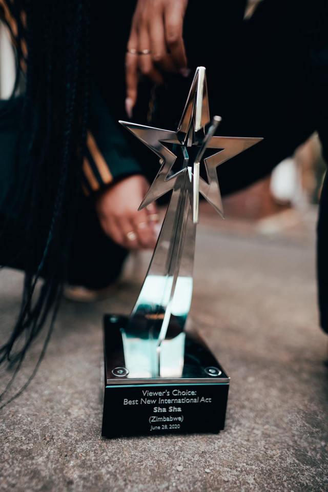 Sha Sha scoops prestigious BET award