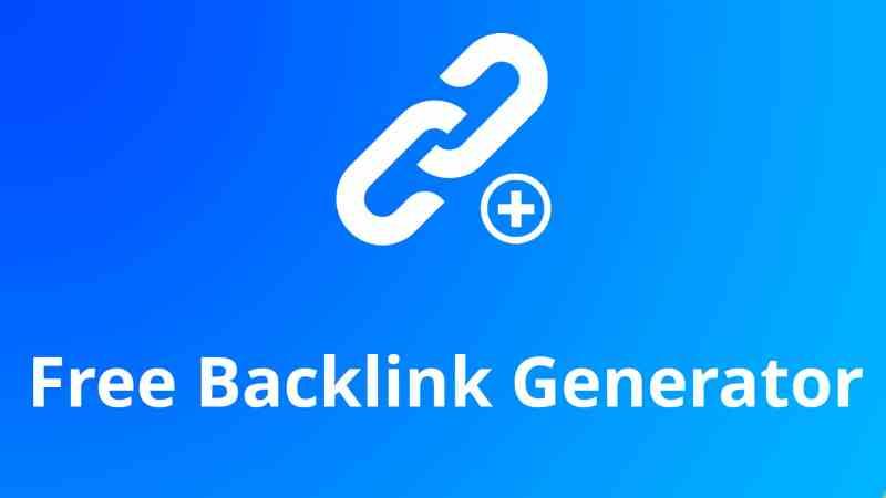 Backlink Generator Tool