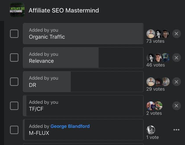 Matt Diggity Affiliate SEO Mastermind group