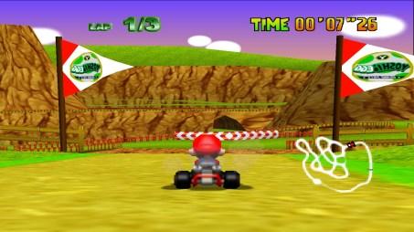 Mario Kart 64 (U) snap0017