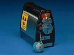 Kobalt-Strahlenquelle: Meßgerät
