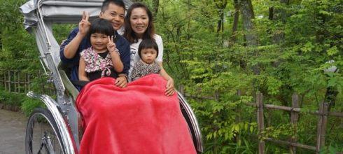 【親子遊】九州湯布院人力車+漫步由布院街道!