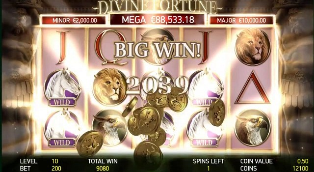 Divine Fortune slot game at HappyLuke Vietnam online casino