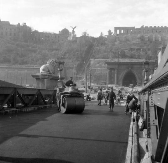 1945 view toward Castle Hill