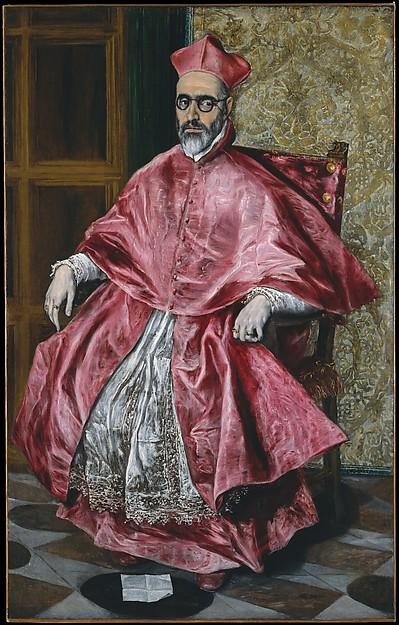 El Greco, Cardinal Fernando Niño de Guevara, 1600