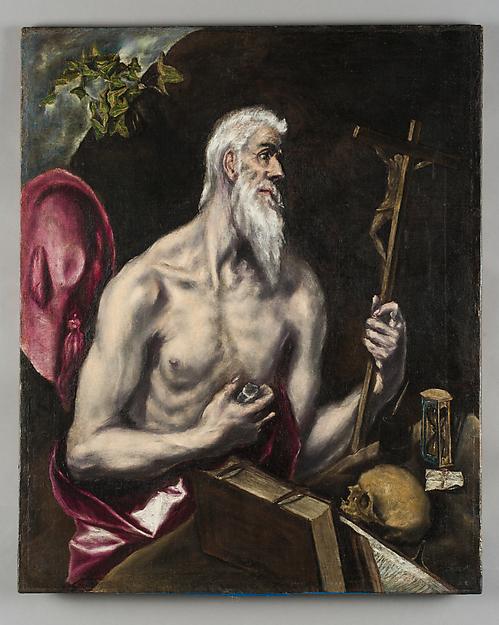 El Greco, St Jerome, 1600