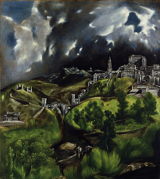 El Greco, View of Toledo, 1598