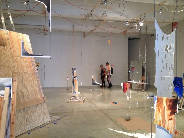 Installation View, Sarah Sze at Tanya Bonakdar Gallery