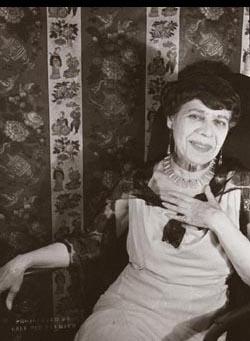 Carrie Stettheimer. Photographed on October 8, 1932 by Carl Van Vechten.
