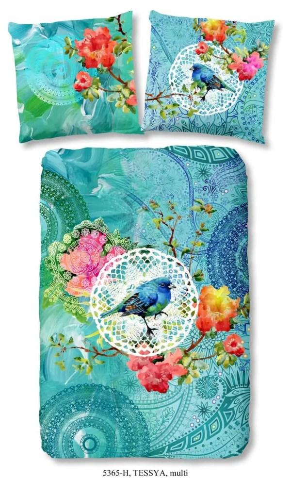 Tessya-hip-groen-overtrek-blauw-vogel
