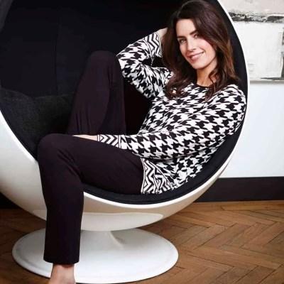 pyjama-pied-de-poule-pastunette-luxe-kwaliteit