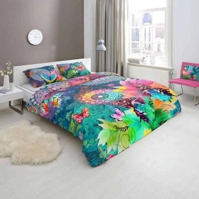 dekbedovertrek-parade-hip-katoensatijn-vrolijk-satijn-vlinders-kleurrijk-blauw-groen