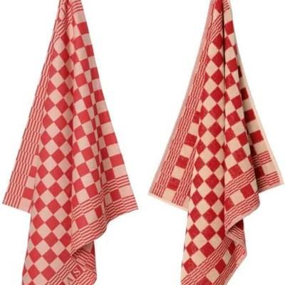 elias-handdoeken-theedoeken-pompdoek-rood-red-klassieker-keukentextiel-kwaliteit-klassieker-keukendoek-theedoek-blok-ruit-patroon
