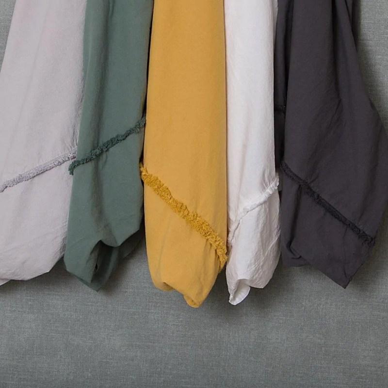 katoenen-dekbedovertrek-240x220-litsjumeaux-extra-lang-aparte-donkergroen-donker-groen-effen-lengte-cotton-romantic