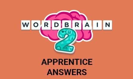 Wordbrain 2 Apprentice