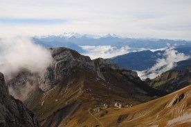 Great view to the other peaks - 2132 meters above sea