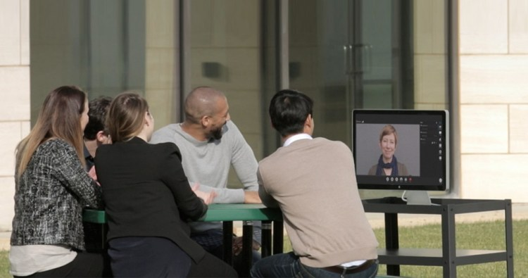 Polycom outside job
