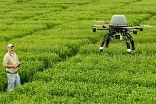dronisti in agricoltura