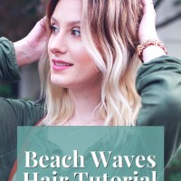 How To Get Messy Beach Waves | Wavy Hair Tutorial