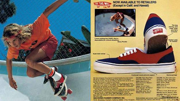Tênis VANS   A história da marca em seus anúncios clássicos
