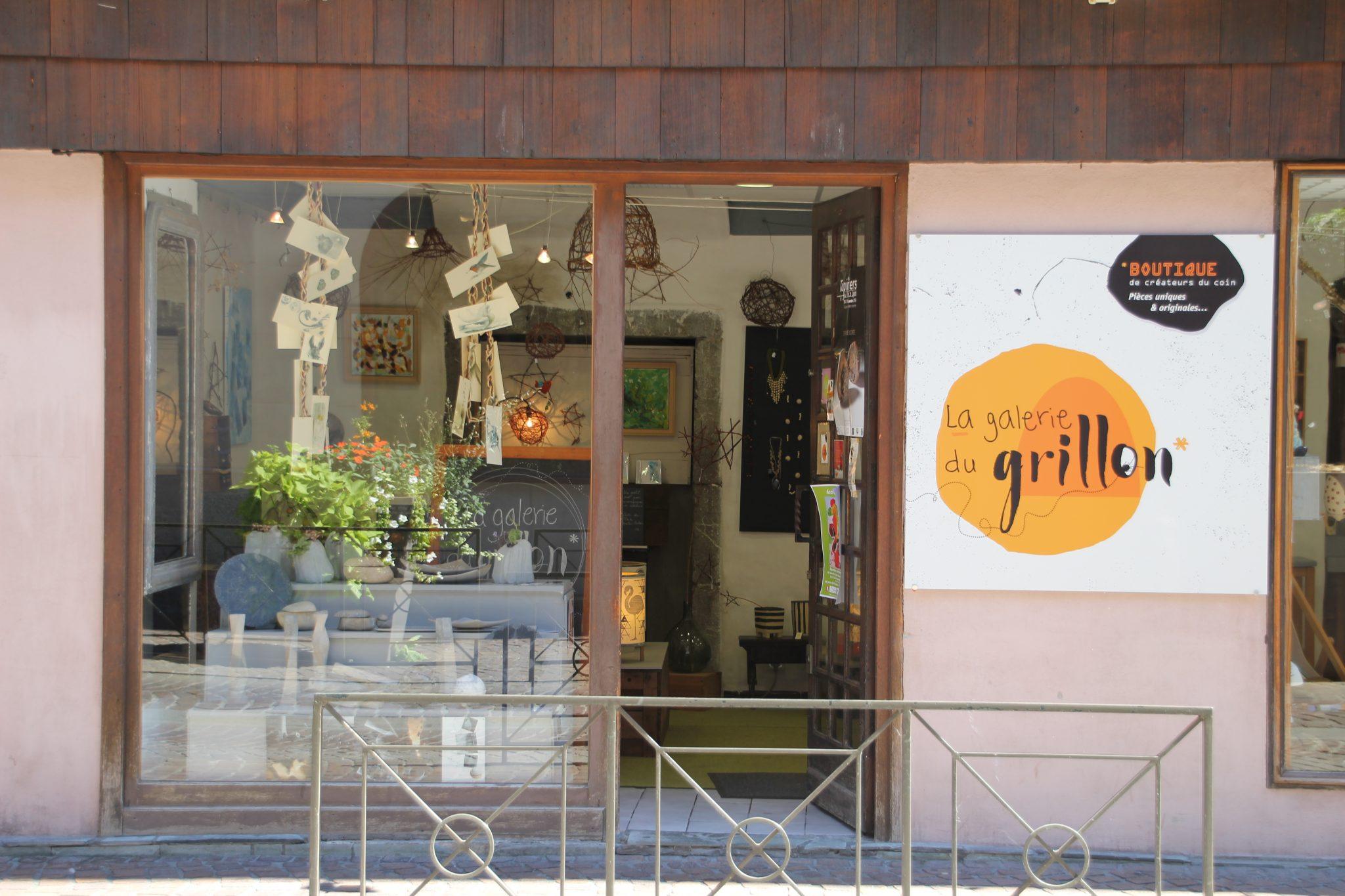 LinoLino   Linogravure et créations artisanales   installation à la boutique de créateurs La Galerie du Grillon   Chambéry
