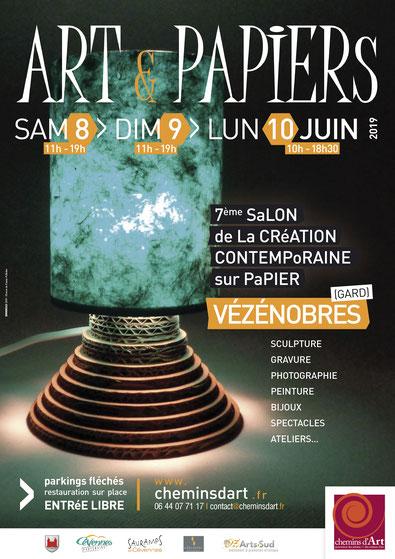 LinoLino | Linogravure et créations à partir d'impressions artisanales | Chambéry, France | Salon Art et Papiers 2019